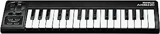 Midiplus AKM320 Controlador MIDI de 32 teclas, Teclado, 32-Key
