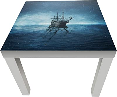 wandmotiv24 Tabla Barco Pirata Fantasma de Mesa de diseño M0858 ...