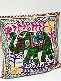 A1Sonic - Funda de cojín para elefante de menos...