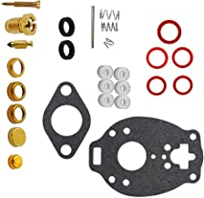 I-Joy Carburetor Carb Rebuild Repair Kit fits Marvel-Schebler TSX Allis Farmall Oliver Ford Replaces K7505 778-505 K7512 778-512 Carby Kit 1-Month Warranty