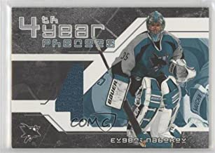 Evgeni Nabokov (Hockey Card) 2002-03 In the Game Be A Player Signature Series - 4th Year Phenoms #YP-9