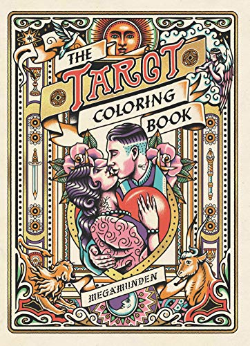 Tarot Coloring Book: A Personal Growth Coloring Journey