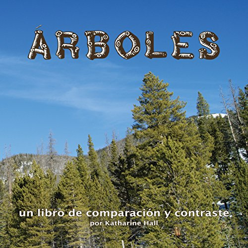 Árboles: un libro de comparación y contraste [Trees: A Book of Comparing and Contrasting] copertina