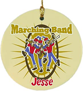 GiftsForYouNow Marching Band Personalized Ornament, Ceramic
