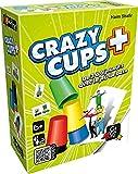 Gigamic- Jeu de Réflexe-Crazy Cups Plus, AMHCP