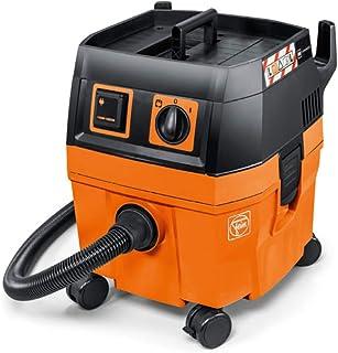 Fein 25L DUSTEX seco y h?medo (25 L, aspiradora Industrial, 1380 W, dep?sito de 22 l, Enchufe Extra), Color: