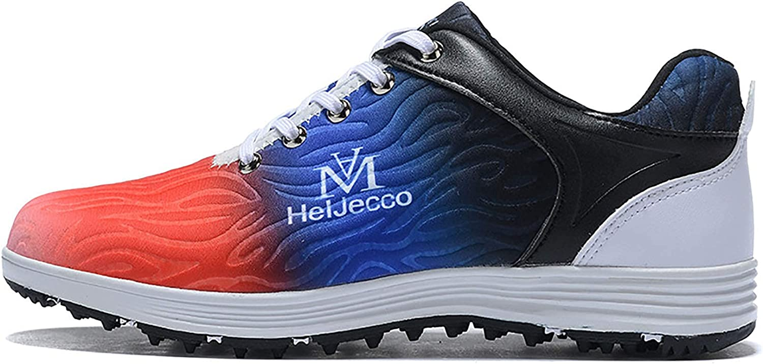 AIAIⓇ Albuquerque Mall Men's Golf Shoes Colorful wear-Resista Luxury Sports
