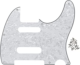 telecaster deluxe pickguard template