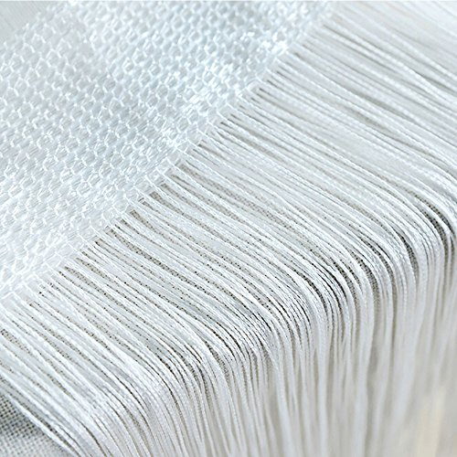 Gaoqi String Curtains Patio Net Fringe for Door Fly Screen Windows Divider Cut To Size, Home Decor Easter and Eid Onsale