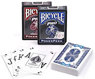 Bicycle® Pro Red & Blue Mix Deck