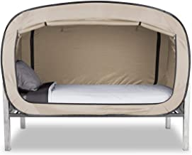 Privacy Pop Bed Tent (Twin) - TAN