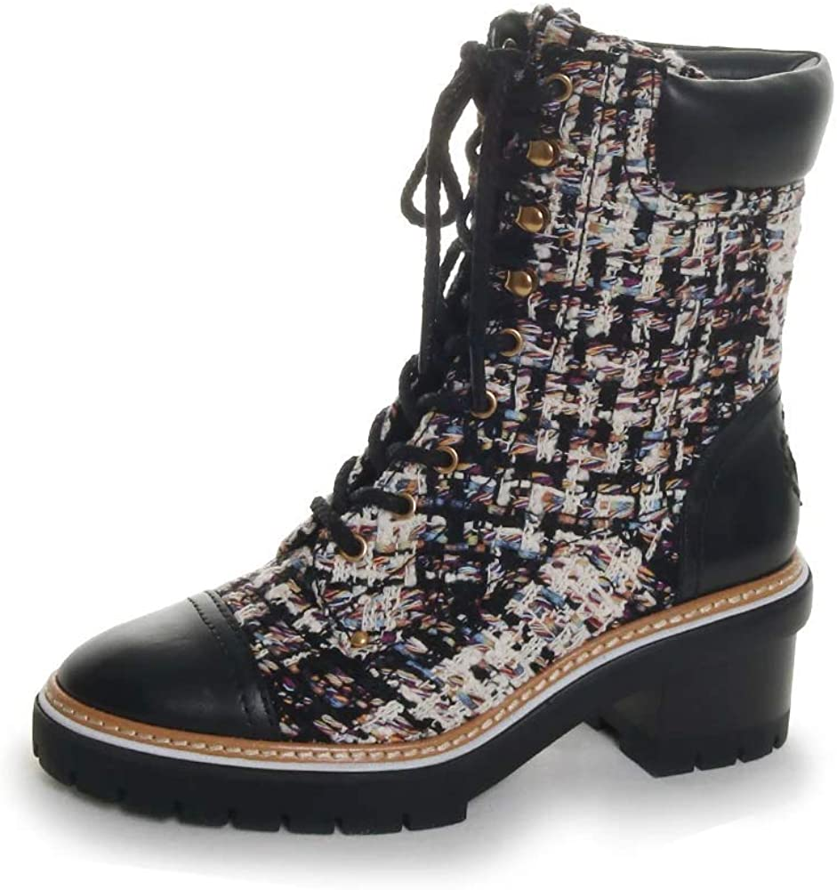 Tory Burch Women's Miller High quality new Detroit Mall Booties Lug Sole 60mm
