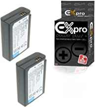 Ex-Pro   BP1410 BP-1410-1450mAh High Rated Power Plus  Lithium Li-on Digital Camera Battery Compatible with Replacement for Samsung NX30 WB2200F Pack