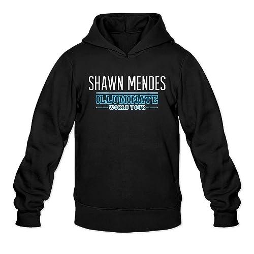 65d05cd5f LIDO Men's Shawn Mendes Illuminate World Tour Fashion Sweatshirt Hoodie