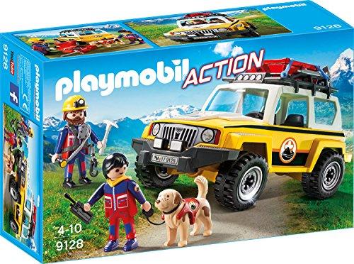 Playmobil 9128 - Bergretter-Einsatzfahrzeug