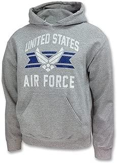Men's Air Force Vintage Basic Hooded Sweatshirt