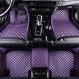 MDJFB Para el Piso del automóvil Alfombrilla para pies para fiat 500x Freemont palio 500l Albea Panda Accesorios para automóviles alfombras Impermeables,Color 5