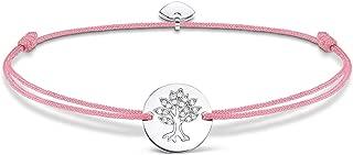 Mujer-pulsera Little Secrets árbol de la vida Plata de ley 925 rosa LS071-401-9-L20v - Novedad Prime Day