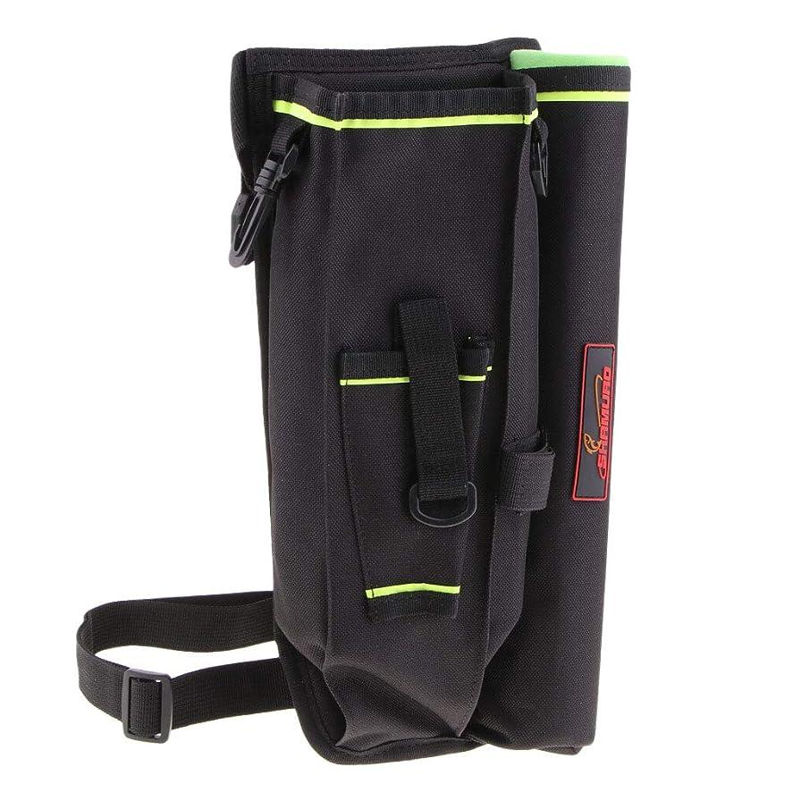 合併法王伝統的Perfeclan ウエストバッグ レッグバッグ サイドバッグ タックルボックス付 釣り道具収納 全3色