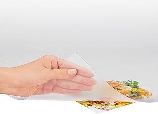 プラス デスクマット 透明 マウス対応 両面転写軽減 1190×690mm 斜めカット 41-042