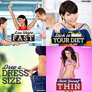 Weight Loss Subliminal Messages Bundle audiobook cover art