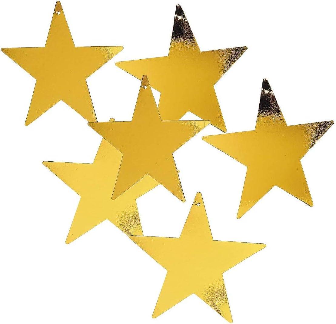 Fun Express 5 popular Gold Star 12