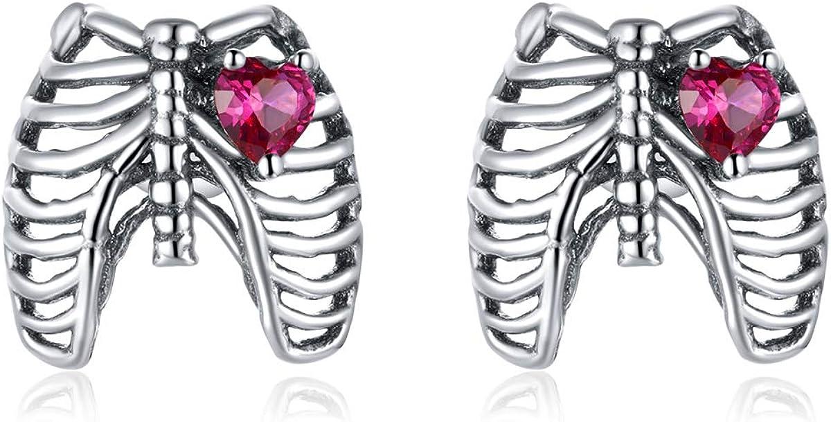 WOSTU 925 Sterling Silver Sales for sale Stud Unicorn Tulsa Mall Earrings Women Earrin