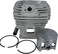 Farmertec 52mm Cylinder Piston Kit WT Pin Ring Circlip for Stihl MS461 R/RZ/Z/Magnum Chainsaw 1128 020 1250