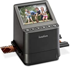 Ivation High Resolution 23MP Film Scanner Converts 135, 110, 126, Black and White, Films Slides and Negatives into Digital Photos, Vibrant 3.5