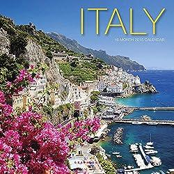 Italy 2015 Mini Wall Calendar