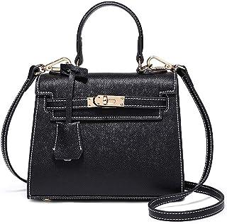 5da435e85e Nouveau Sac pour Femme en Cuir rétro personnalité Portable Mini épaule  Messenger Bag (Couleur :