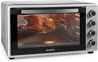 comprar comparacion KLARSTEIN Masterchef 60 Mini Horno - 60 litros, 2000 W, temperatura: 100-230 °C, asador giratorio, función de circulación ...