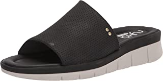 Ryka Women's Ellie Slide Sandal, Black, 9