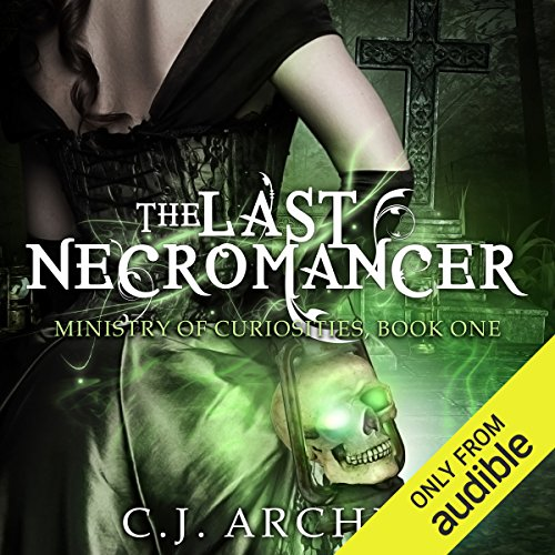 The Last Necromancer audiobook cover art