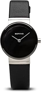 BERING Time 10126-402 Womens Classic Collection Watch with Calfskin Band and Scratch Resistant Sapphire Crystal. Designed in Denmark.