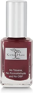 Karma Organic Natural Nail Polish-Non-Toxic Nail Art, Vegan and Cruelty-Free Nail Paint (FRENCH KISS)