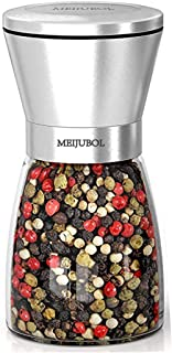 MEIJUBOL Pepper Grinder Salt Shaker (5.5