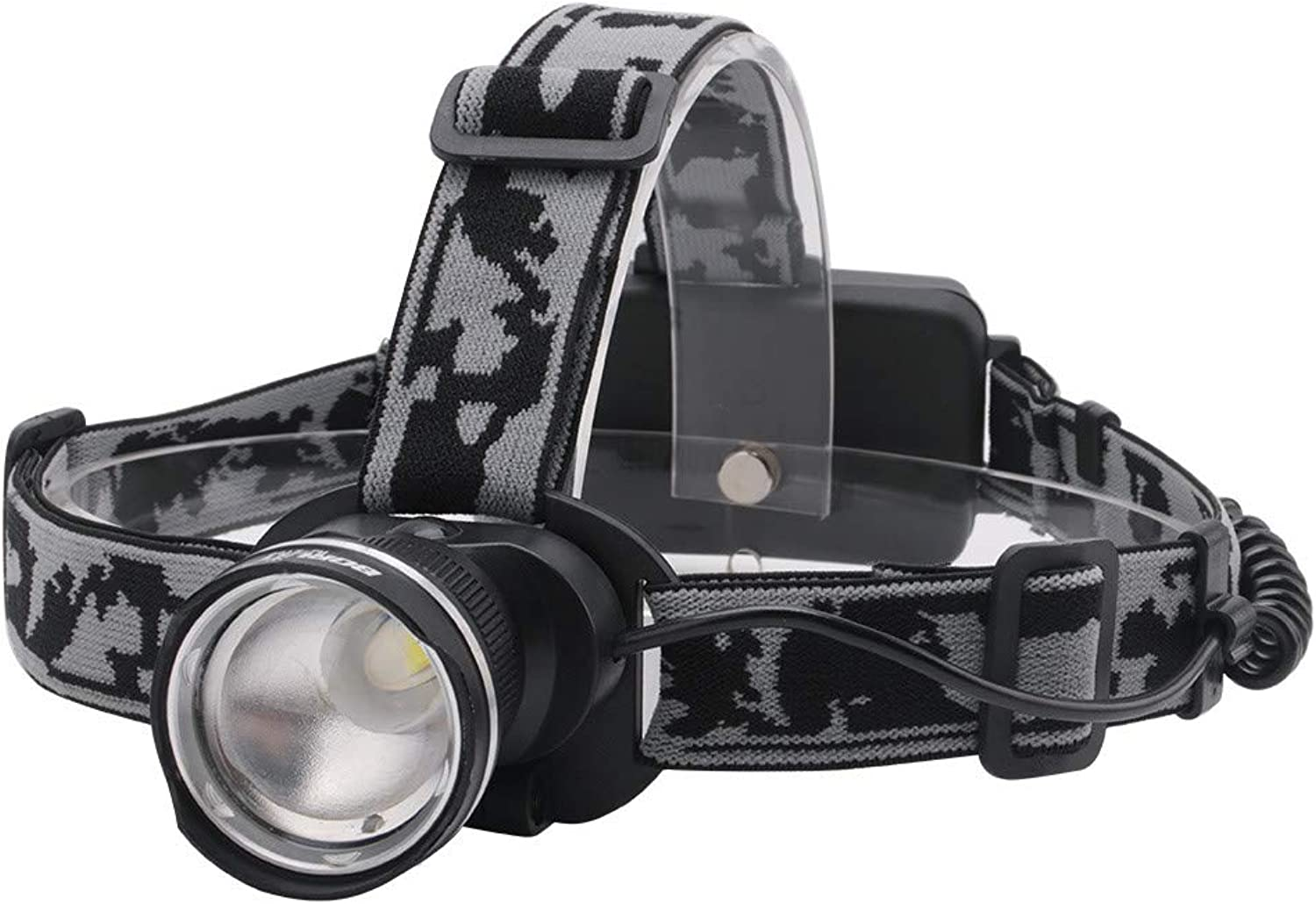 Stirnlampen 3-Mode T6 Led Headlamp Zoomable Headlight 18650 Battery Flashlight Waterproof Camping Fishing Head Torch
