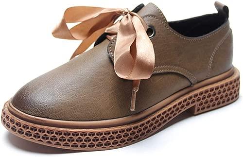 Damen Flacher Halbschuhe Damen Freizeitschuhe Mokassin-Schuh Arbeitsschuhe Schnüren Sie Nackte Stiefel