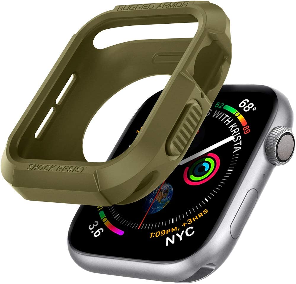 Funda Spigen Apple Watch Serie 6/se/5/4 44mm Olive Green