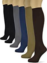 Silky Smooth Knee High Socks/Trouser Socks by Sox Trot | Thin Material | Black, Brown, Grey, Navy, Taupe, Red, Purple, Teal