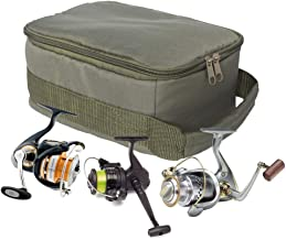 KAKALOR Fishing Bag Carp Fishing Tackle PVA Rig Storage Pouch Lead Bag with 3 Compartments Ideal to Keep All You Tackle Well Organised