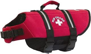 Travelin K9 Premium Red Neoprene Dog Life Jacket, Reflective, Bouyant