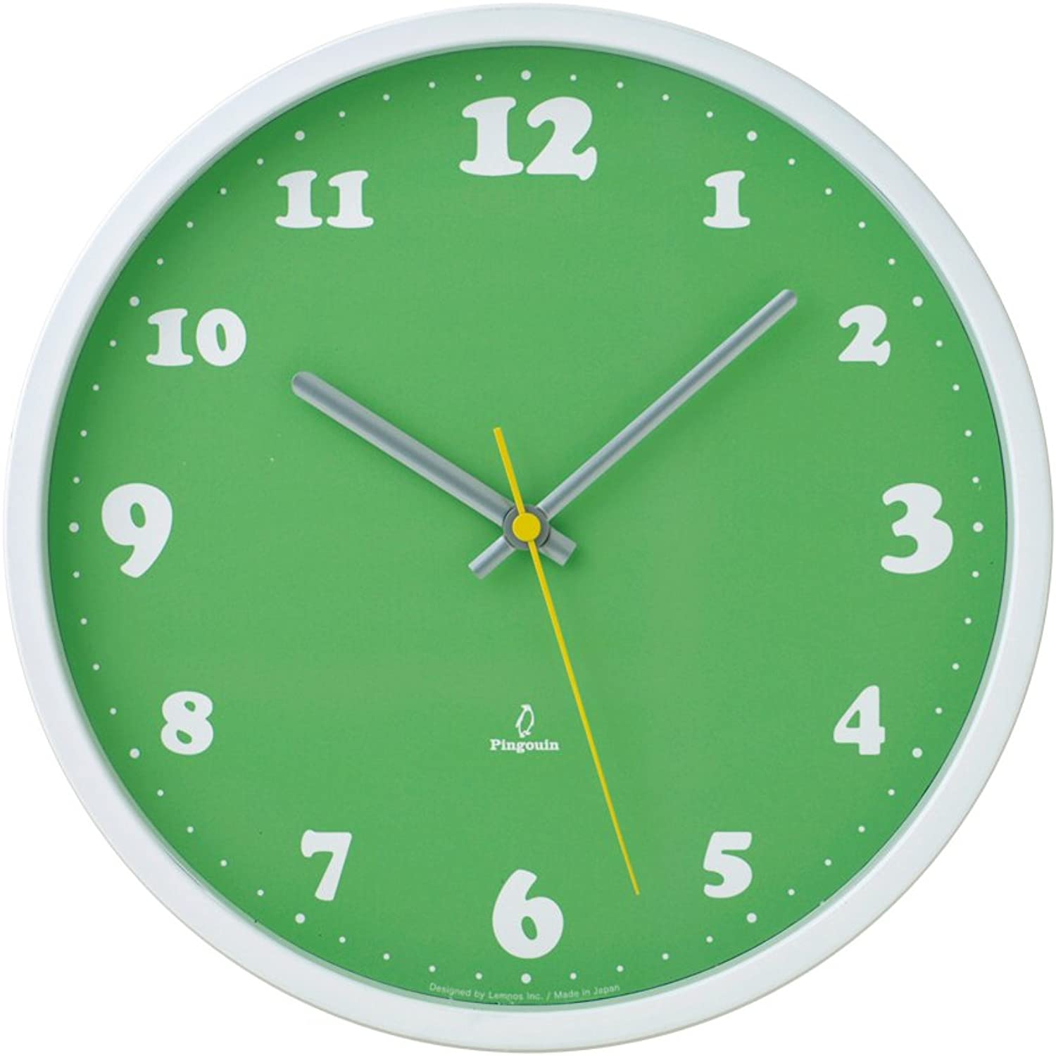 Lemnos Daily clock Green PC0907 GN by Lemnos