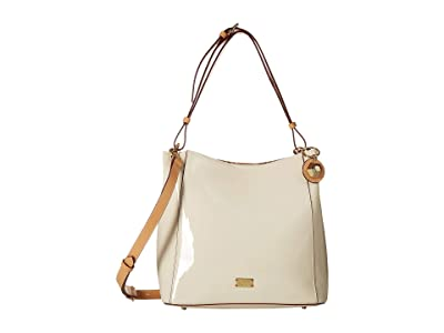 Frances Valentine Medium June Hobo (Oyster) Hobo Handbags