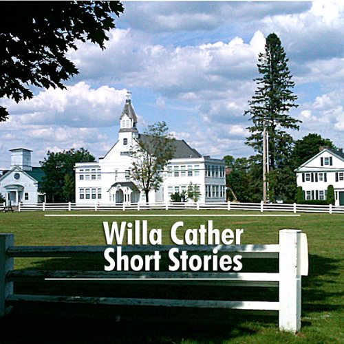 Willa Cather Short Stories audiobook cover art