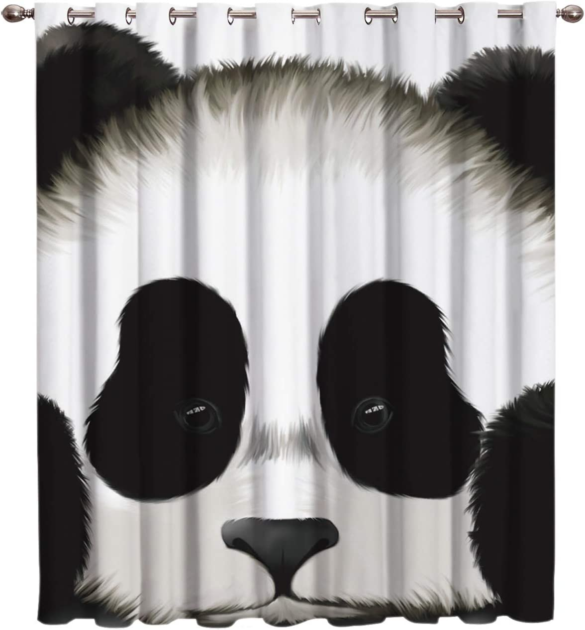 Cloud Dream Home Cute Cartoon 最安値に挑戦 今季も再入荷 Window-Tr Blackout Panda Darkening