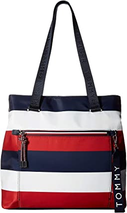 Lani Tote Corporate Stripe