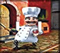 Italian Chef with Wine Double Toggle Switchplate - Switch Plate Cover