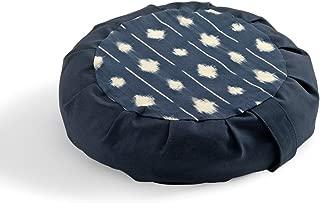DharmaCrafts Buckwheat Zafu Round Meditation Yoga Cushion